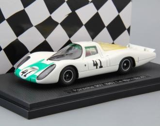 PORSCHE 907 Le Mans #41 (1967), white / green