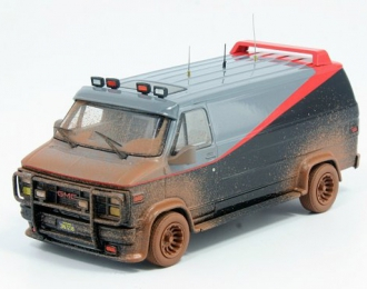 GMC A-Team van, grey