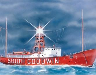 """Сборная модель Плавающий маяк """"Саут Гудвин"""""""