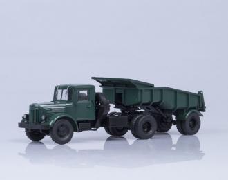 МАЗ 200В с полуприцепом МАЗ 5232В, зеленый