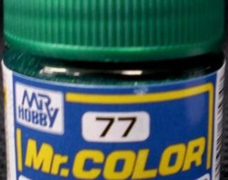 Краска эмалевая METALLIC GREEN 10мл