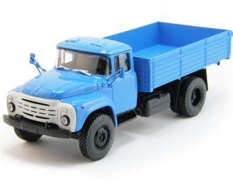ЗИЛ 130-76 бортовой (новая решетка), голубой