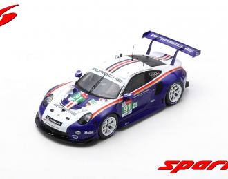 Porsche 911 RSR #91 Porsche GT Team 2nd LMGTE Pro class 24h LM 2018 Lietz - Bruni - Makowiecki