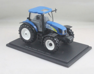 NEW HOLLAND TS135A (2003), blue / black