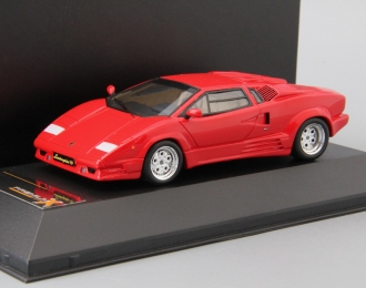 LAMBORGHINI Countach 25th Anniversary (1989), red