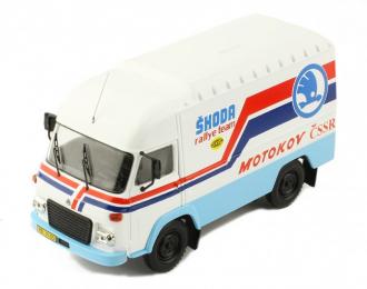 "AVIA A21F техничка ""Skoda Rallye Team"" 1985"
