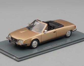 CITROEN CX Orphee Cabrio, beige metallic
