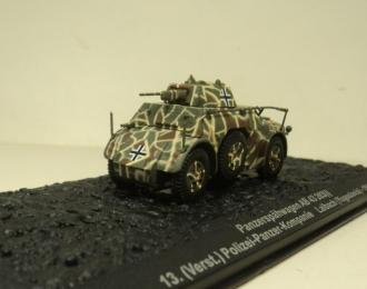 Panzerspahwagen AB 43 203(i), 13. (Verst.) Polizei-Panzer-Kompanie, Yugoslavia (1944)