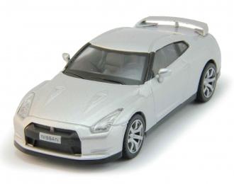 NISSAN GT-R, Суперкары 18, silver