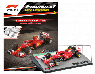 FERRARI SF15-T Кими Райкконена (2015), Formula 1 Auto Collection 52