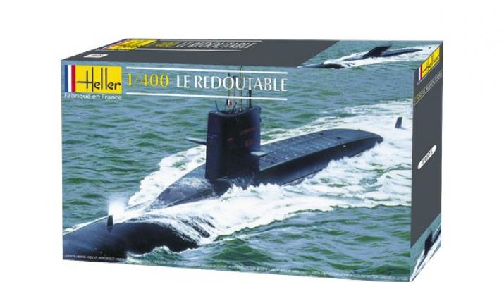 Сборная модель Подводная лодка Le Redoutable