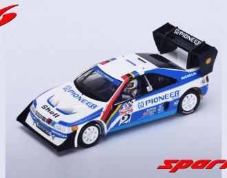 PEUGEOT 405 Turbo 16 #1 Winner Pikes Peak R. Unser (1989), white