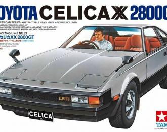 Сборная модель TOYOTA Celica XX 2800GT