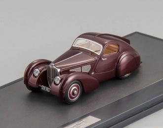 BUGATTI Type 51 Dubos Coupe #51133 (1931), maroon