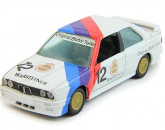 BMW M3 #12 Warsteiner, white