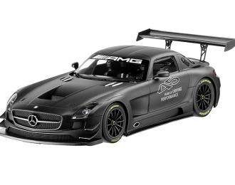 MERCEDES-BENZ SLS AMG GT3 Año (2013), grafit magno