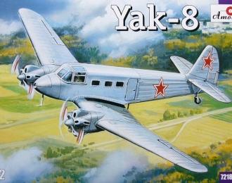 Сборная модель Советский транспортный самолет Як-8