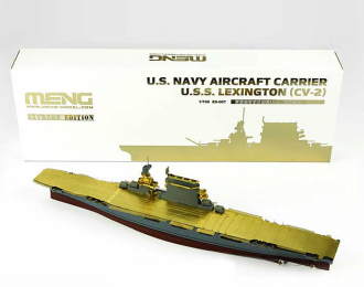 Сборная модель Корабль U.S. Navy Aircraft Carrier U.S.S. Lexington (Cv-2) Ext