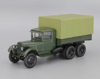 ЗИС-6А, темно-зеленый
