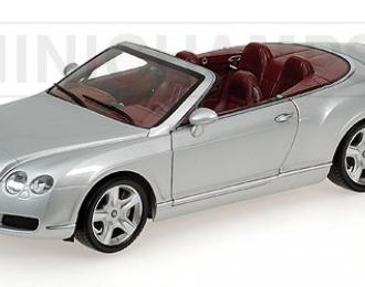BENTLEY Continental GTC (2006), silver
