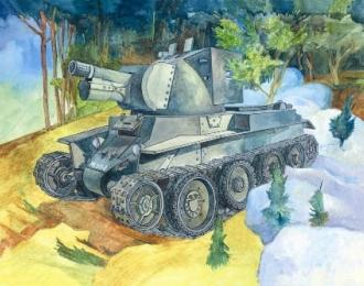 Сборная модель Штурмовое орудие БТ-42
