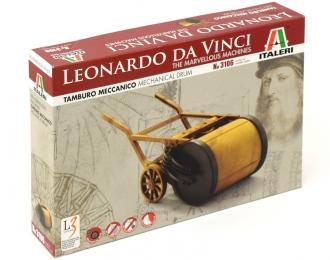 Сборная модель Механический барабан (Серия Леонардо Да Винчи )