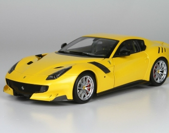 Ferrari F12 TDF 2015 yellow metallic