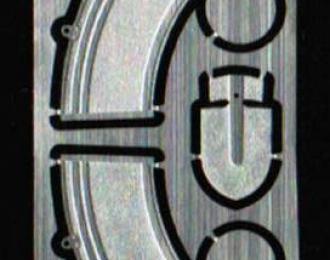 Фототравление Набор для сборки 2-х вёдер (нержавейка)