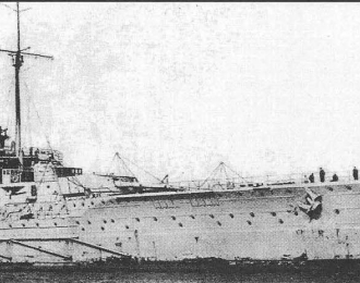 """Сборная модель Немецкий линейный крейсер """"Seydlitz""""  (1913г.)"""