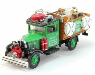 FORD Model AA Forest Fire Truck, Models of Yesteryear (1932), green