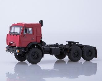 Камский грузовик 44108 седельный тягач, вишневый