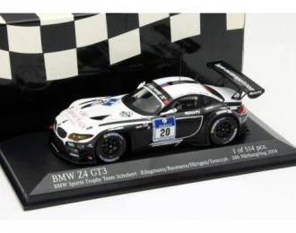 BMW Z4 GT3 - BMW SPORTS TROPHY TEAM SCHUBERT - KLINGMANN/BAUMANN/HUERTGEN/TOMCZYK - 24H N'RING 2014