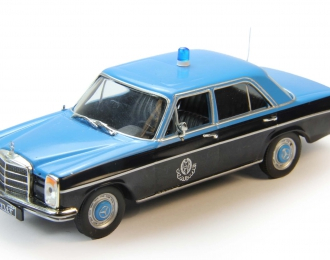 MERCEDES-BENZ W114 Полиция Катара, Полицейские Машины Мира 70, черный / синий