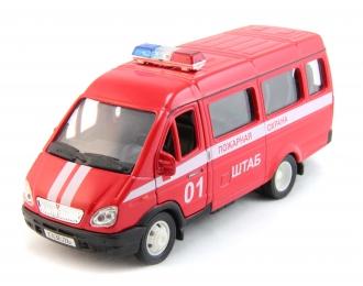 Горький 3221 Пожарная охрана, красный