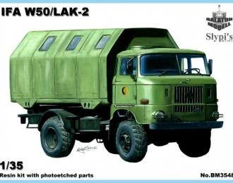 Сборная модель Немецкий автомобиль IFA W50 (кунг LAK-2)