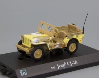 JEEP Willys CJ-2A, olive green