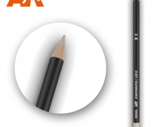 """Акварельный карандаш """"Пыль / Следы дождя"""" / Watercolor Pencil Dust/Rainmarks"""