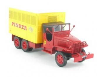 GMC CCKW 353 (Etats Unis 1950), серия Camions DAutrefois 41, красный