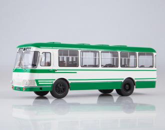 Курганский автобус-3100 Сибирь, бело-зеленый
