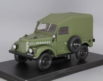 Горький-69, Легендарные Советские Автомобили 9, зеленый