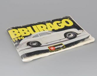 Каталог Bburago 1990