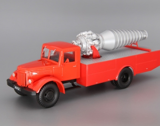 МАЗ-200 АГВТ, Автолегенды СССР. Грузовики 14, красный