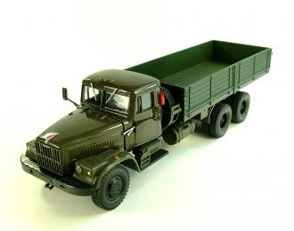 КРАЗ 257Б бортовой (1969-1977), серо-зеленый
