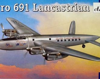 Сборная модель Британский транспортный самолет Avro 691 Lancastrian