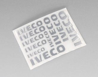 Наклейка объёмная металлизированная логотипы IVECO