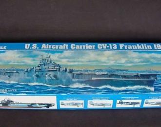 Сборная модель Американский авианосец USS CV-13 Franklin (1944г.)