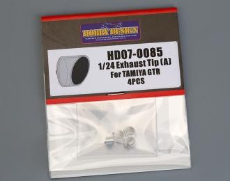 Набор для доработки Выхлопные патрубки для GTR R35 (Тип A)