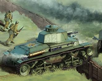 Сборная модель  Skoda LT Vz35 & R-2 Tank (2 in 1) Eastern European Axis forces
