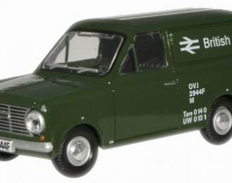BEDFORD HA Van «British Rail» 1965, green