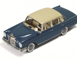 MERCEDES-BENZ 220SE 1959 Dark Blue with Beige